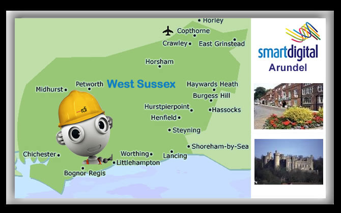 We have Local Installers in the Arundel area daily and full West Sussex Coverage.
