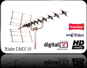 High Gain Digital aerial DMX5